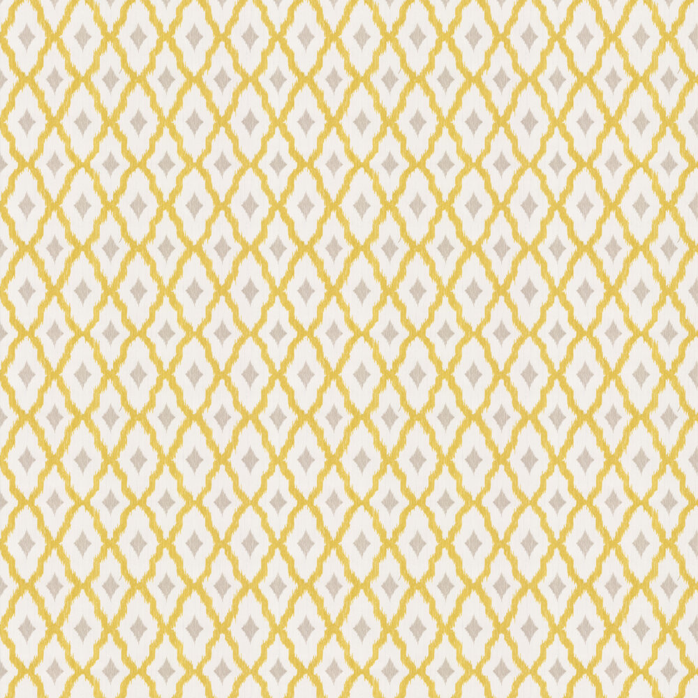 Windsor Diamond Wallpaper - Chartreuse - by Architects Paper