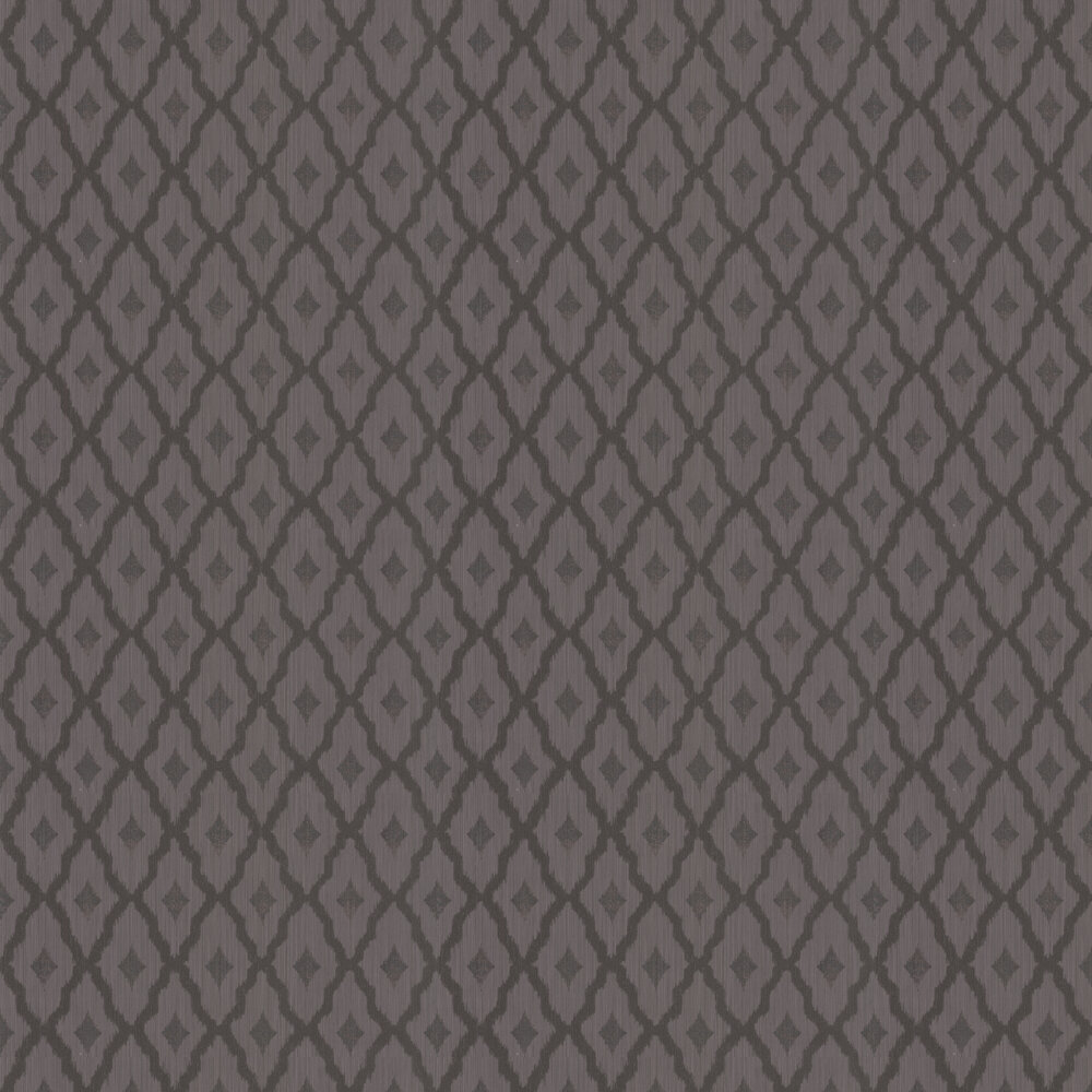 Architects Paper Windsor Diamond Chocolate Brown Wallpaper - Product code: 961975