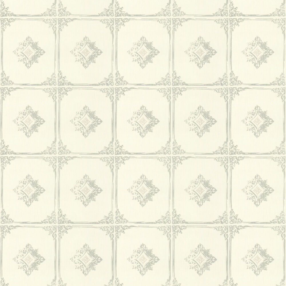 Chatsworth Wallpaper - Cream - by Architects Paper