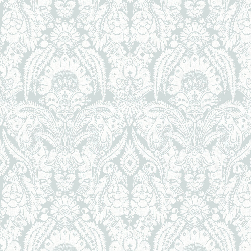 Cole & Son Chatterton Soft Blue Wallpaper - Product code: 94/2011
