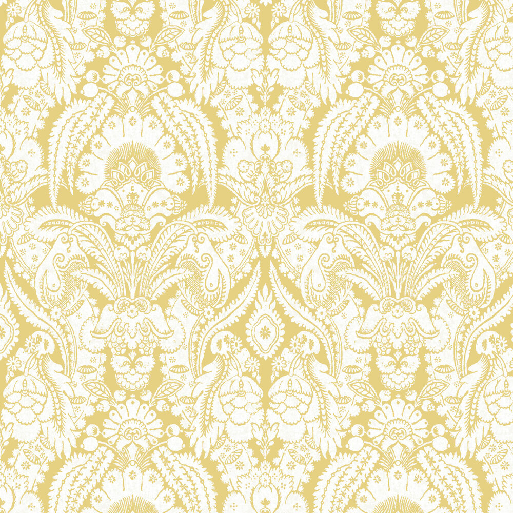 Cole & Son Chatterton Yellow  Wallpaper - Product code: 94/2013