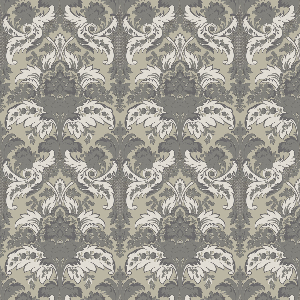 Cole & Son Aldwych Silver Wallpaper - Product code: 94/5026