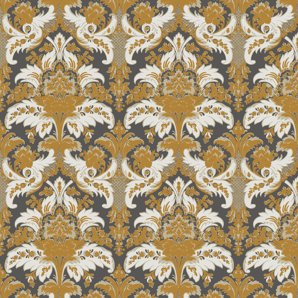 Cole & Son Aldwych Black and Gold Wallpaper - Product code: 94/5027