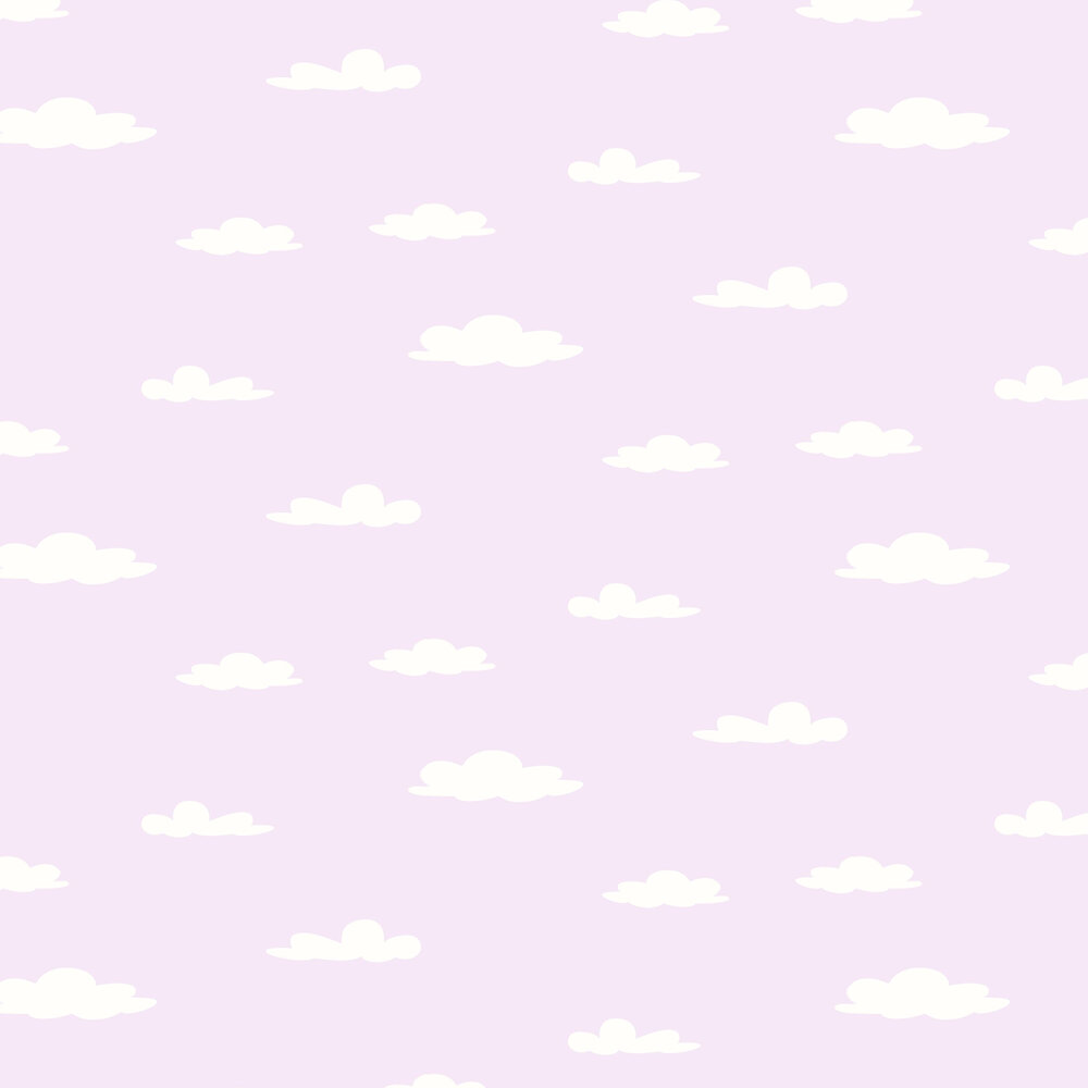 Albany Clouds Lilac Wallpaper - Product code: SZ002118