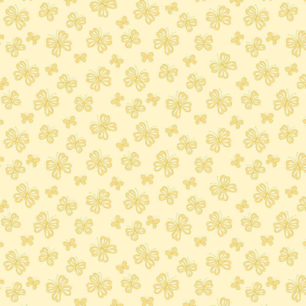 Albany Butterflies Honey Wallpaper - Product code: SZ002131