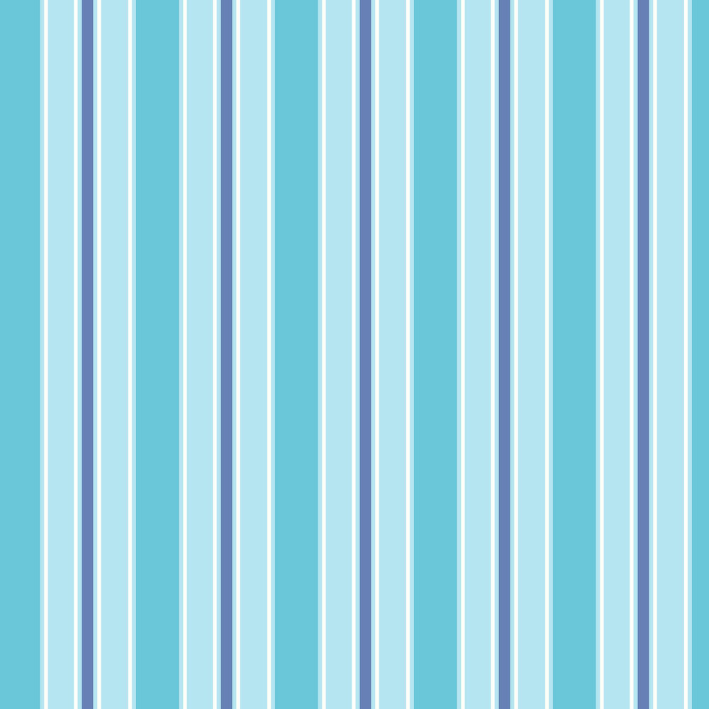 Albany Wide Stripe Turquoise and Blue Wallpaper - Product code: SZ002148