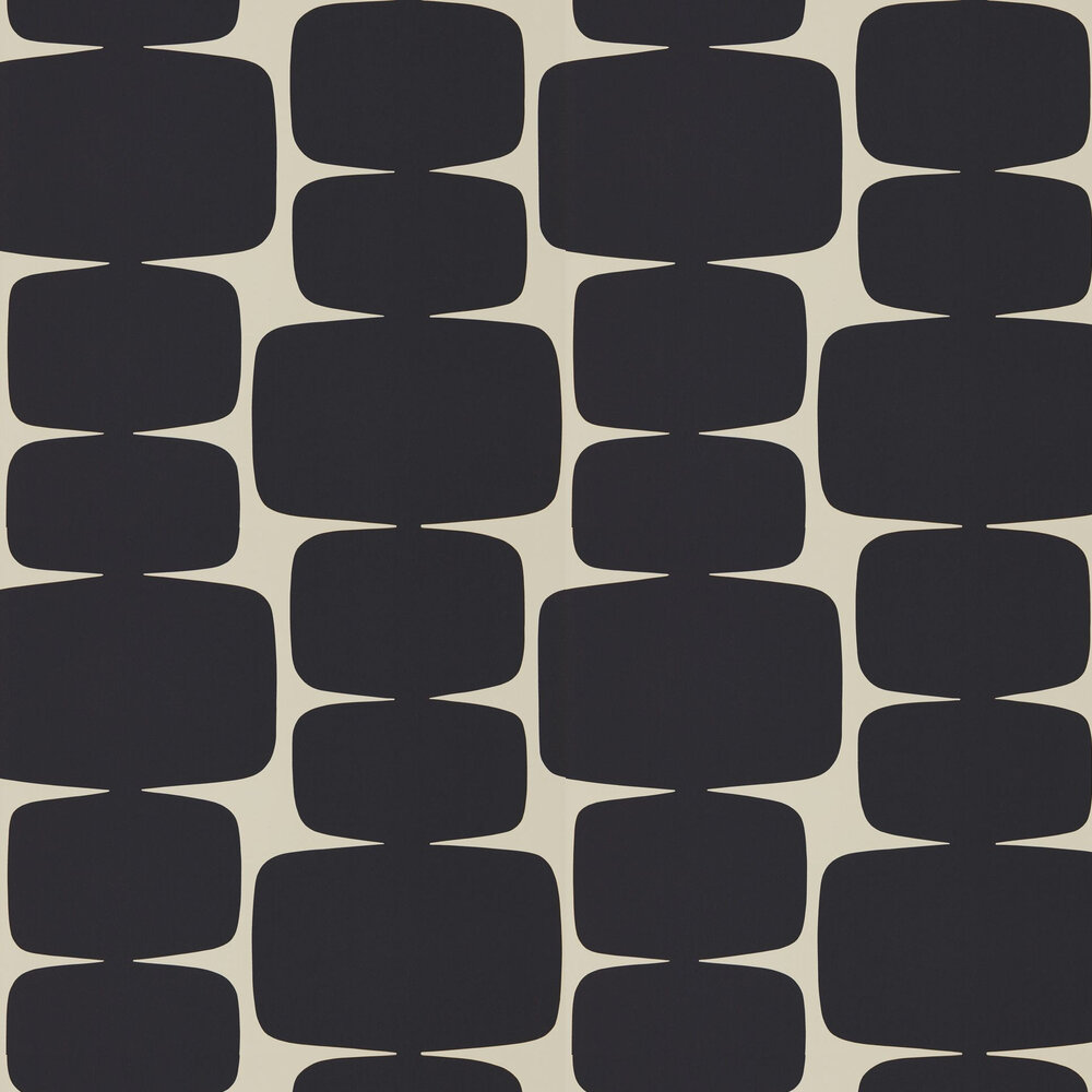 Scion Lohko Liquorice Wallpaper - Product code: 111290