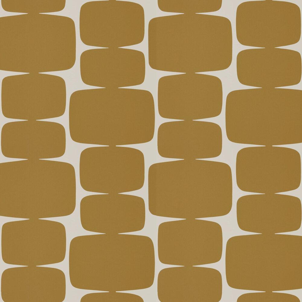 Lohko Wallpaper - Cinnamon - by Scion