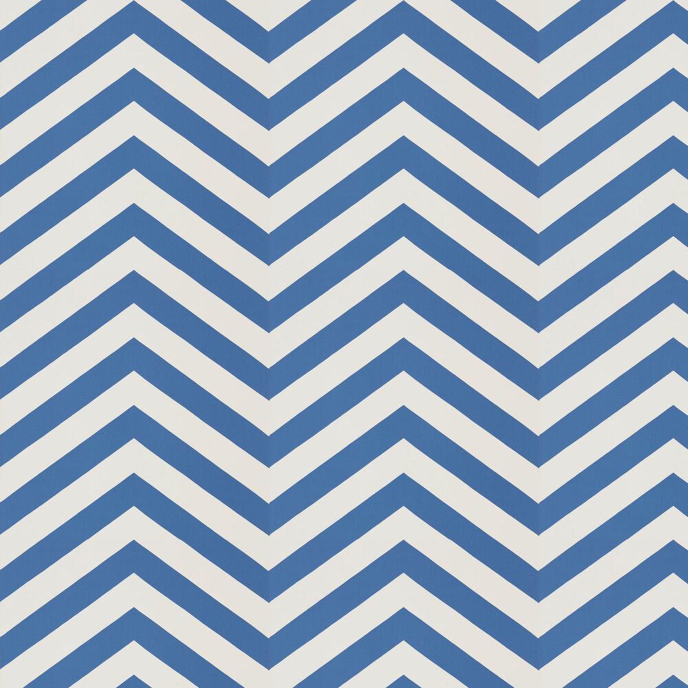 Vector Wallpaper - Indigo - by Scion