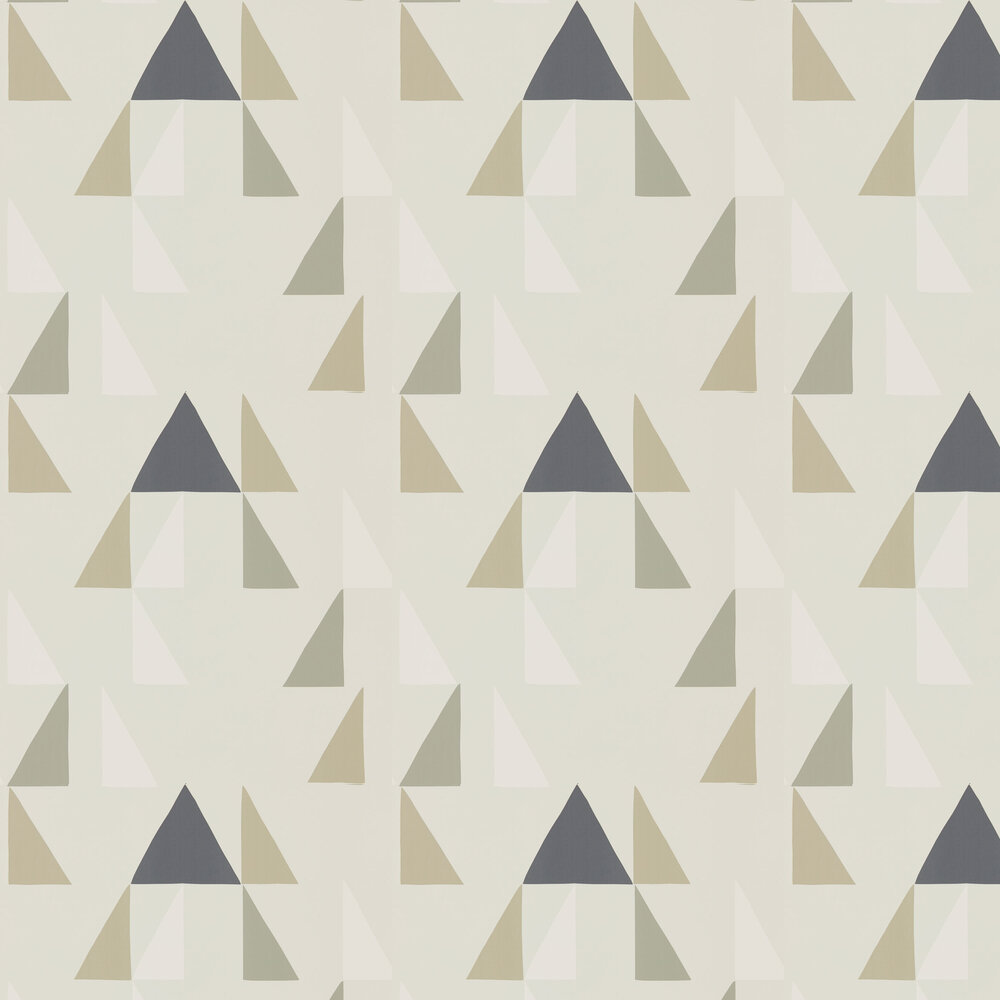 Scion Modul Parchment, Biscuit and Linen Wallpaper - Product code: 111307