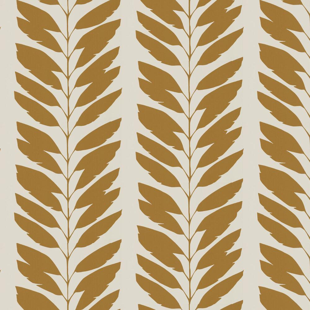 Malva Wallpaper - Cinnamon - by Scion