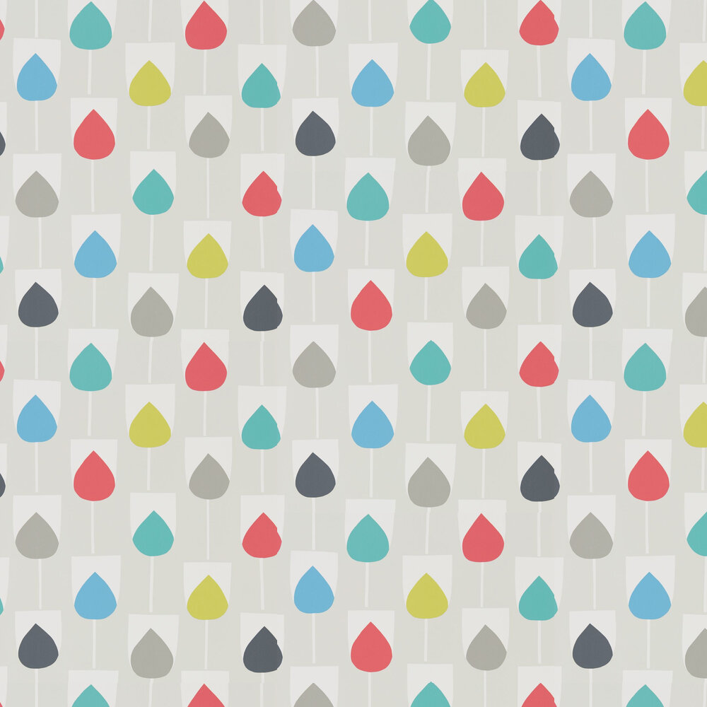 Scion Sula Julep, Watermelon and Liquorice Wallpaper - Product code: 111324