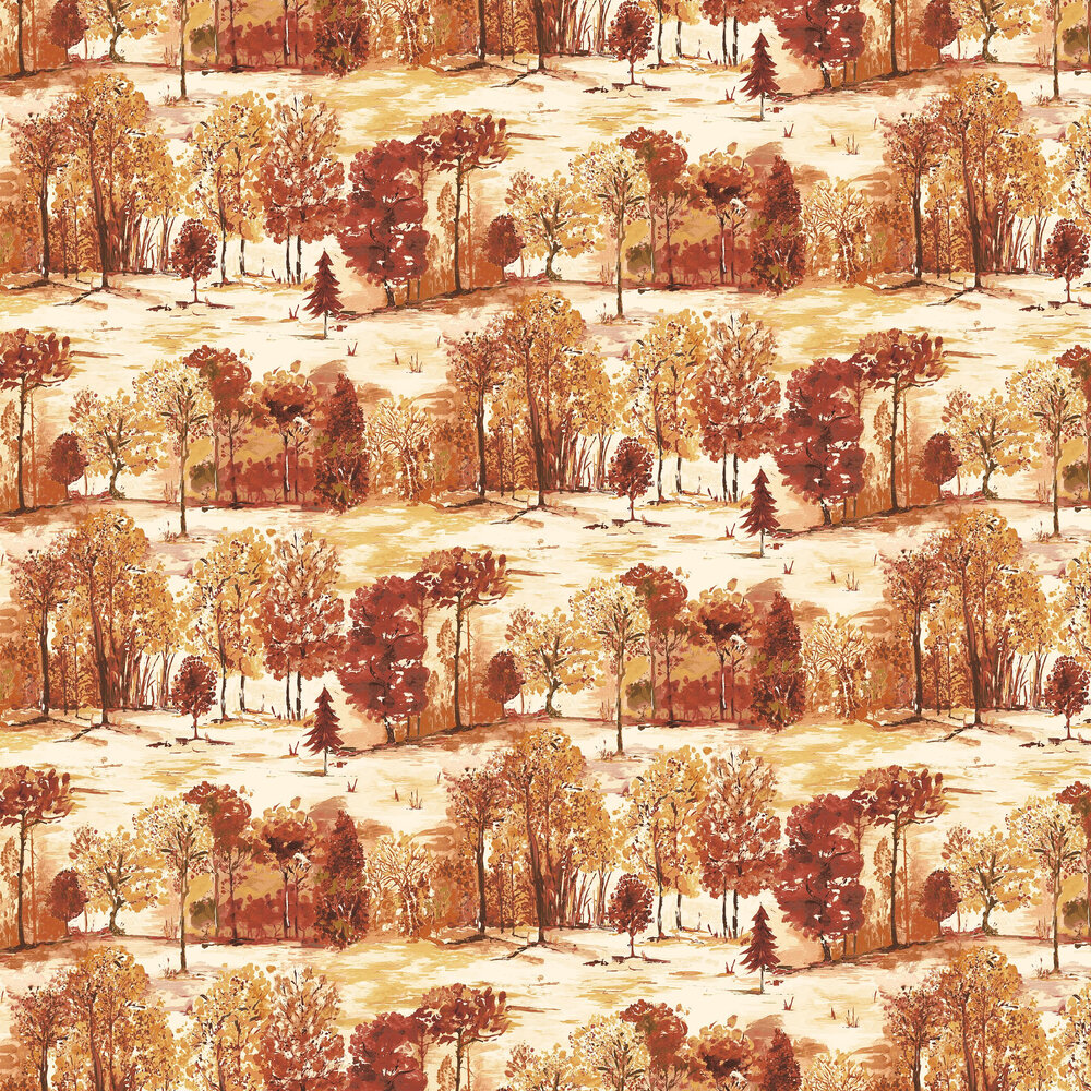 Albany Roscoe Burnt Orange Wallpaper - Product code: 98560