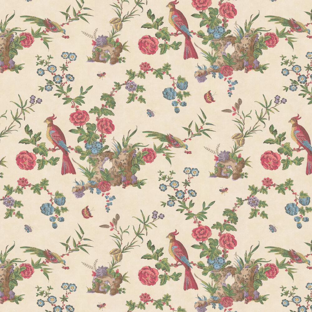 Little Greene Darwin Cream Wallpaper - Product code: 0247DAPROVE
