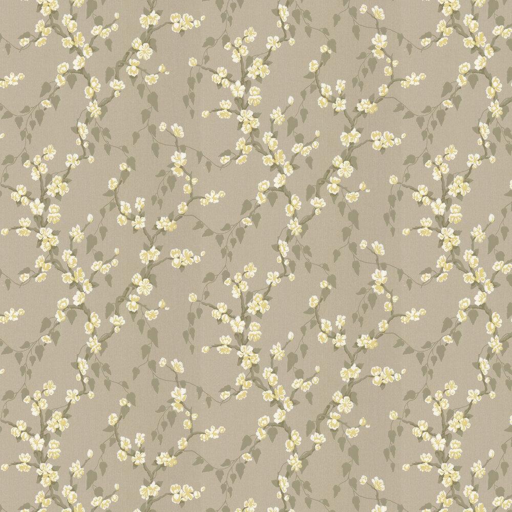 Sakura Wallpaper - Metal - by Little Greene