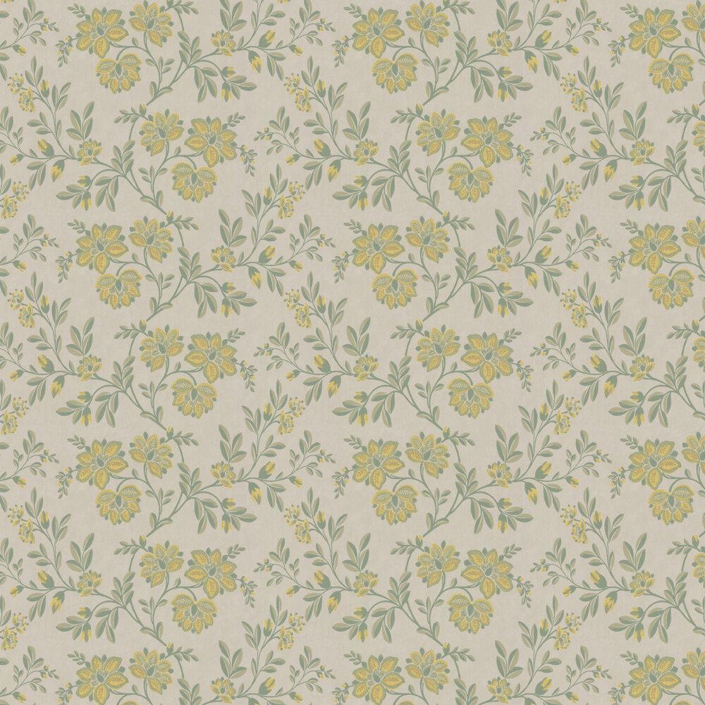 Little Greene Stitch Green Wallpaper - Product code: 0247STHIGHL