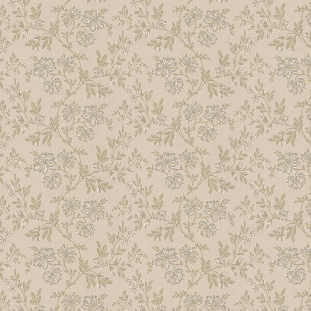 Stitch Wallpaper - Twine - by Little Greene