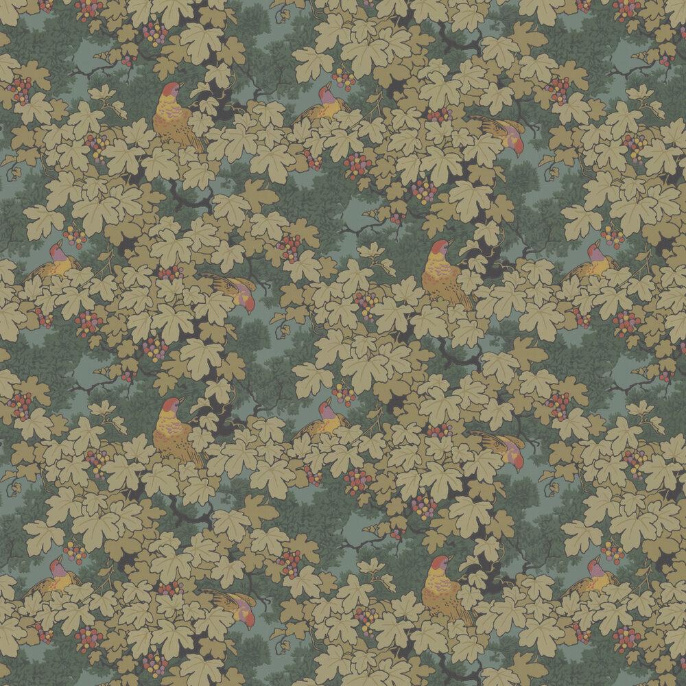 Little Greene Vine Green Wallpaper - Product code: 0247VIVERDE