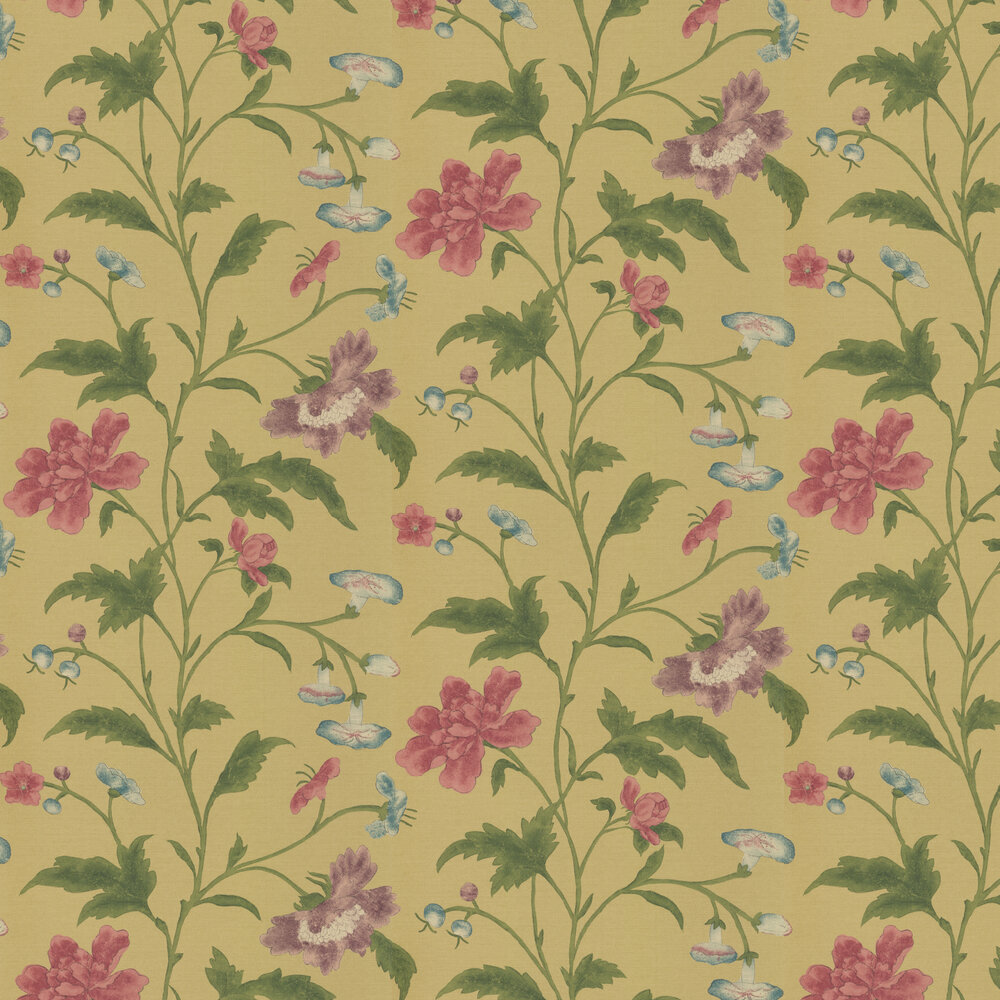 Little Greene China Rose Yellow Gold Wallpaper - Product code: 0247CHEMERA