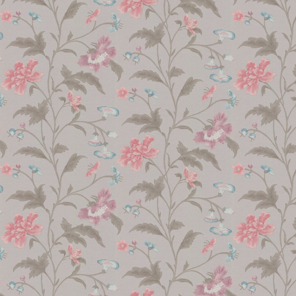 Little Greene China Rose French Grey Wallpaper - Product code: 0247CHFRENC