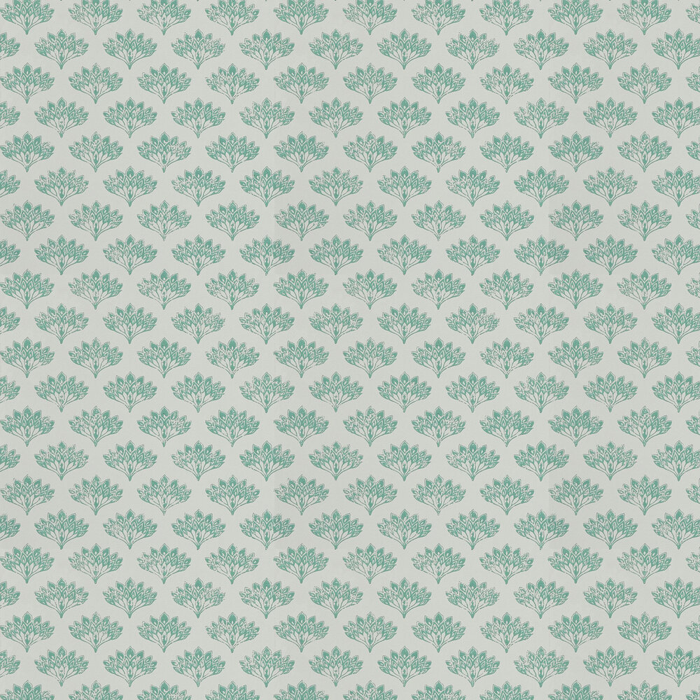 Barneby Gates Peacock Teal Wallpaper - Product code: BG1300101