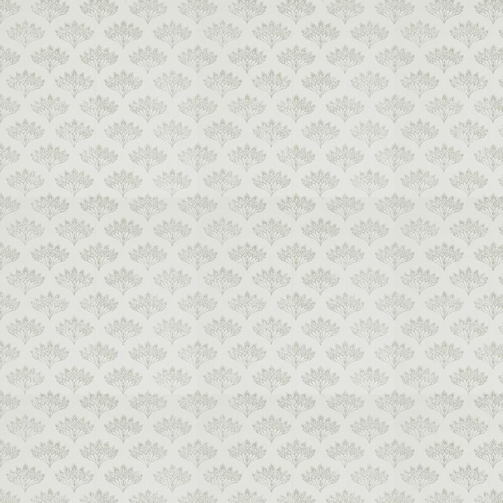 Peacock Wallpaper - Grey - by Barneby Gates
