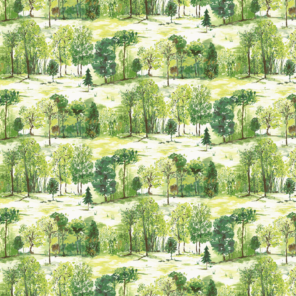Albany Roscoe Forest Green Wallpaper - Product code: 98561