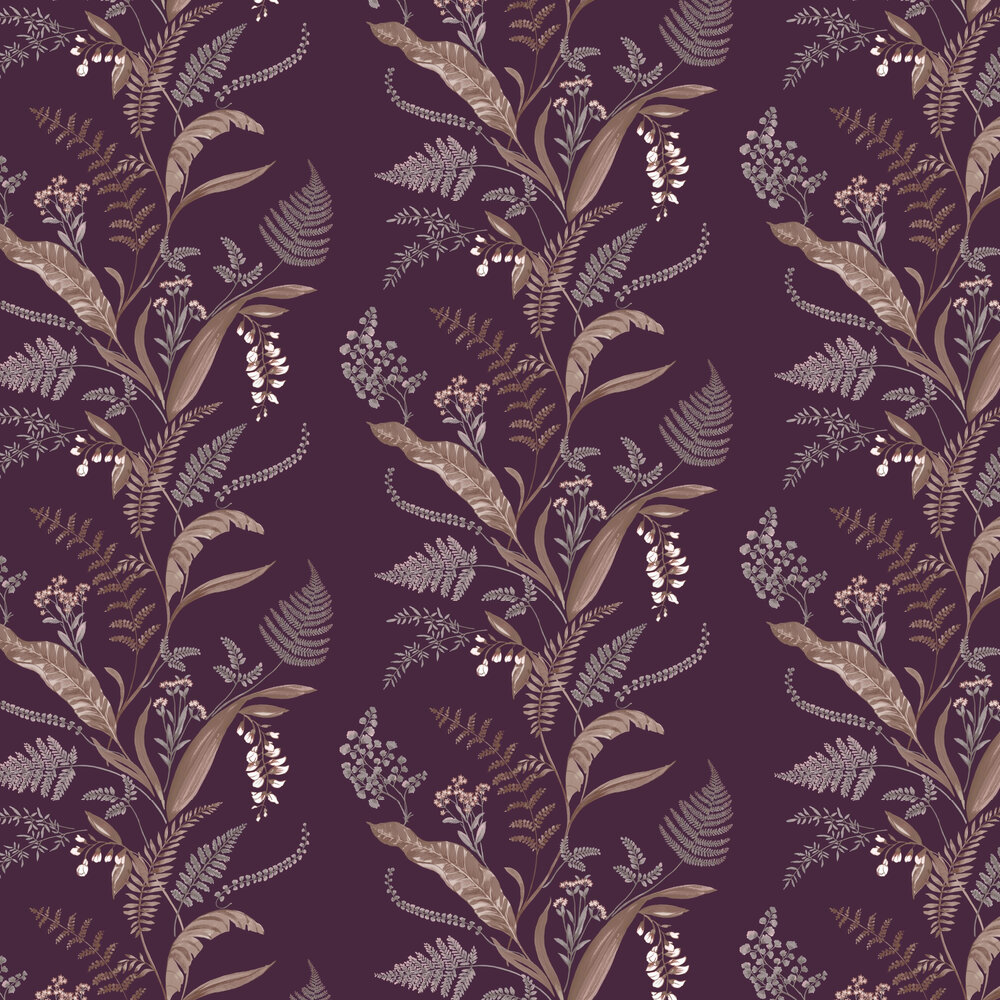 Albany Cembra Plum Wallpaper - Product code: 98546