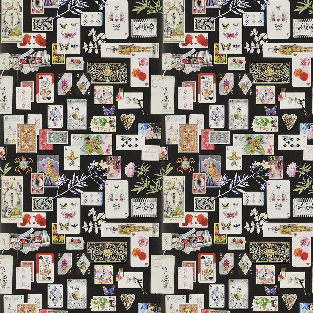 Christian Lacroix Maison de Jeu Reglisse Wallpaper - Product code: PCL697/01