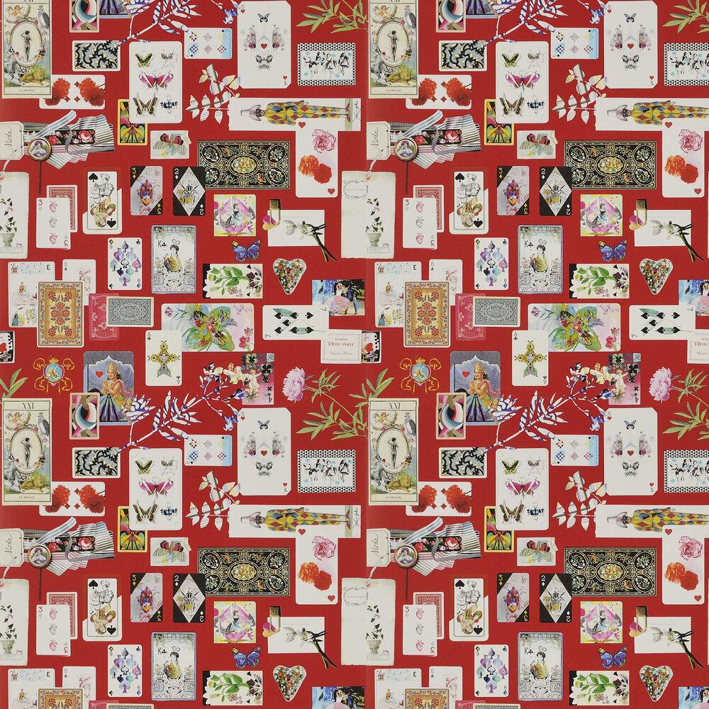 Christian Lacroix Maison de Jeu Groiseille Wallpaper - Product code: PCL697/02