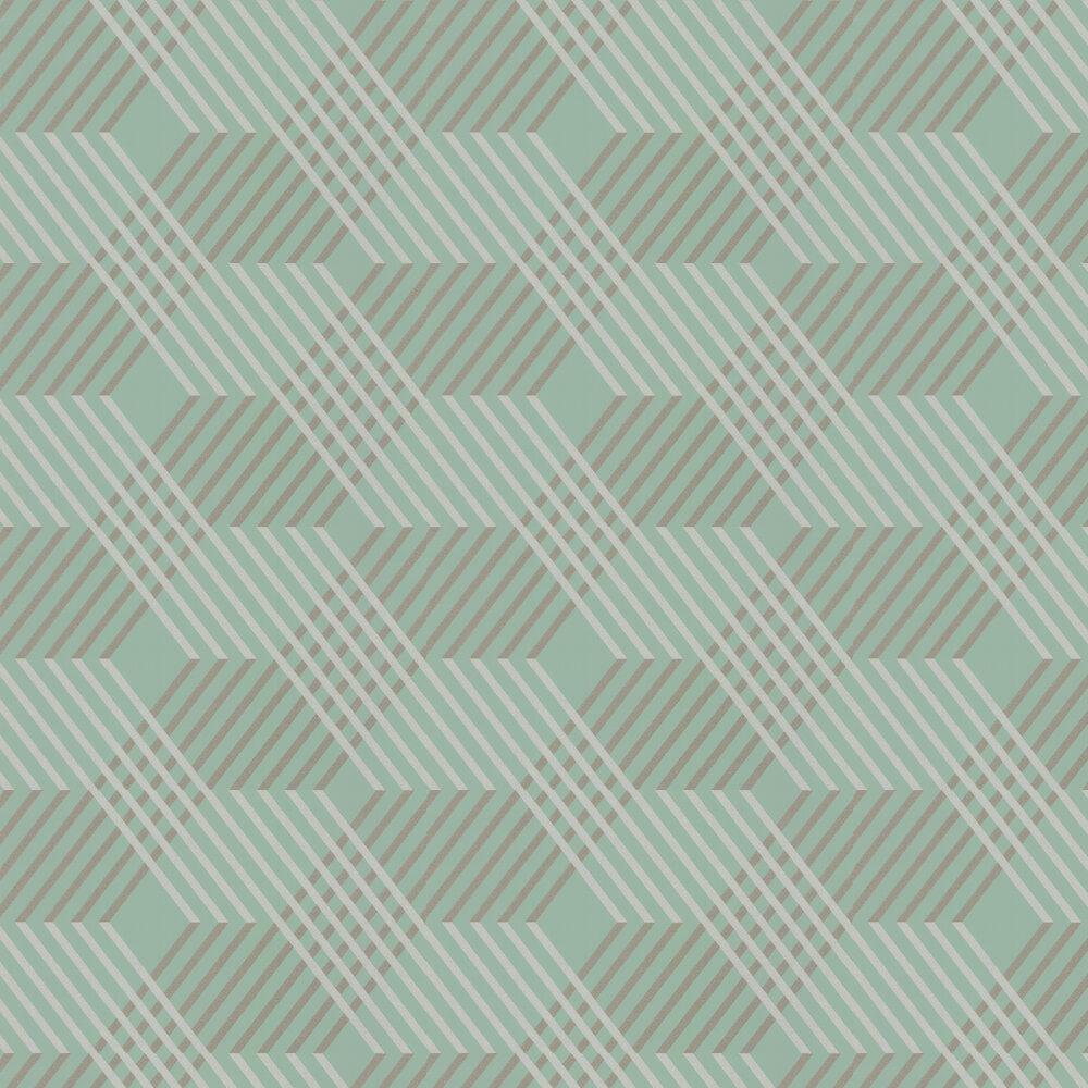 Osborne & Little Petipa Mint Wallpaper - Product code: W6894-01