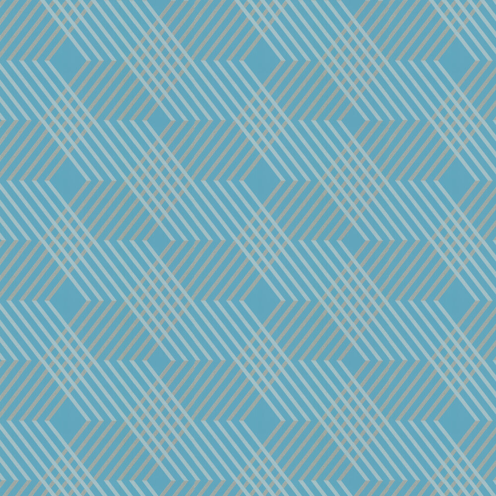 Osborne & Little Petipa Turquoise Wallpaper - Product code: W6894-05