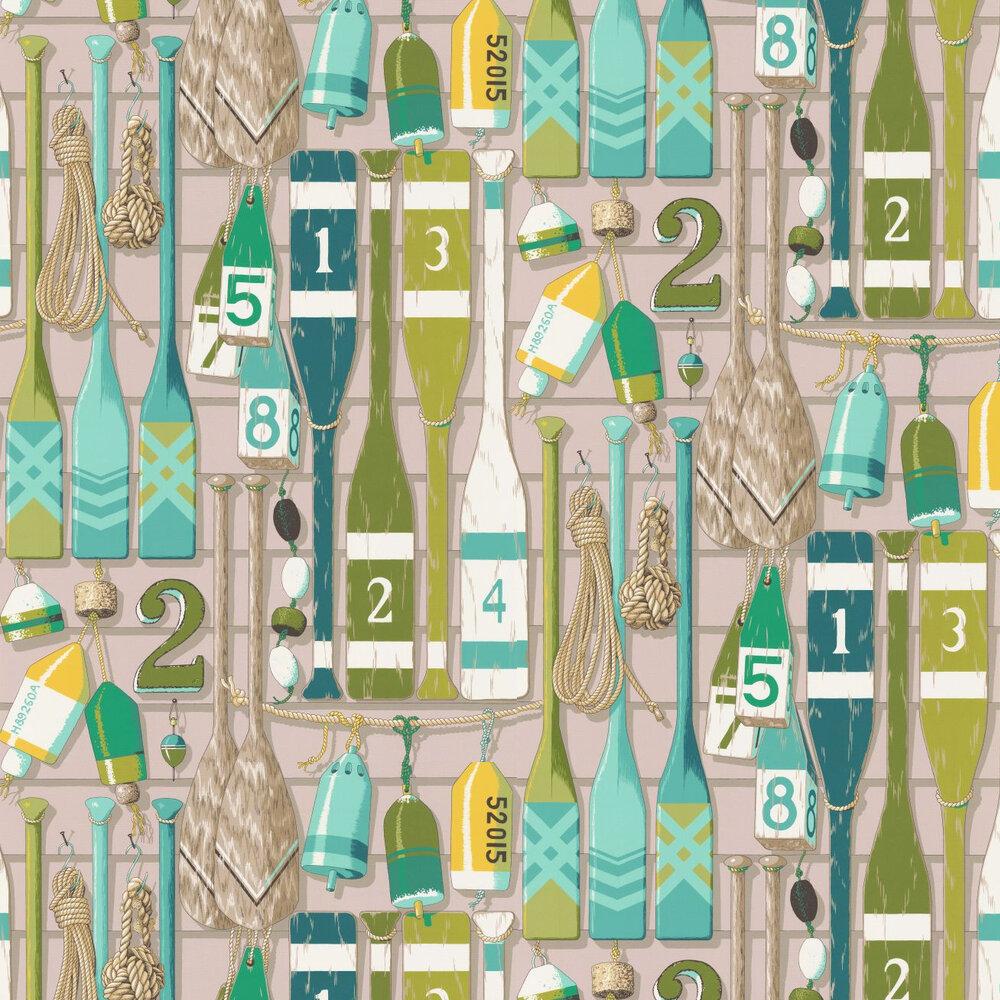 Manuel Canovas Newport Emeraude Wallpaper - Product code: 3081/02