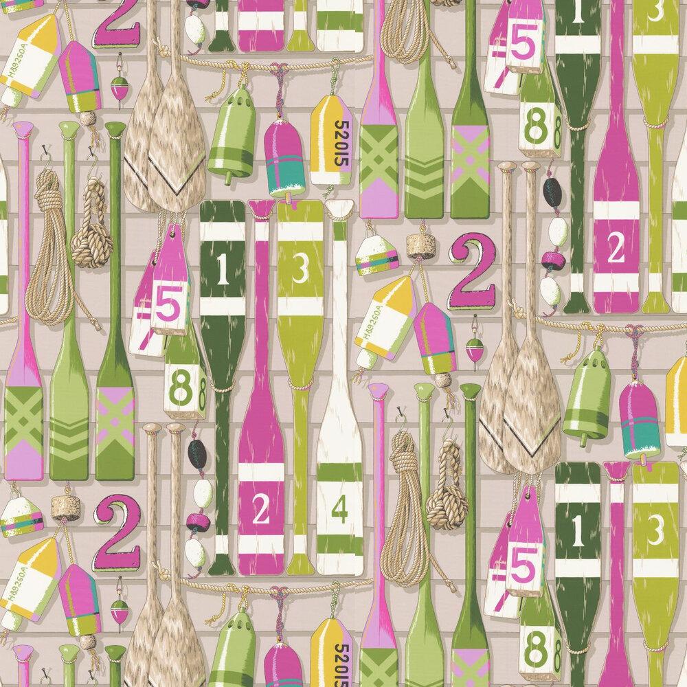 Manuel Canovas Newport Fuchsia Wallpaper - Product code: 3081/03