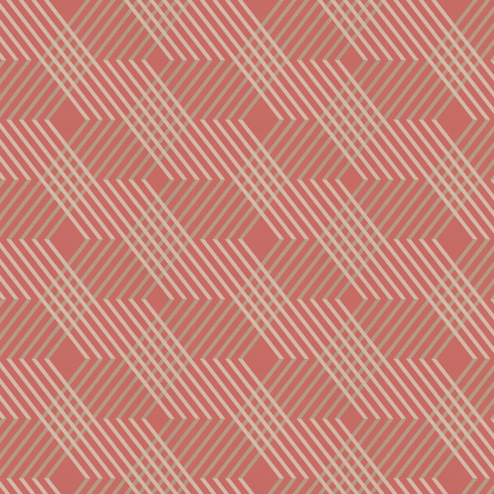 Osborne & Little Petipa Coral Wallpaper - Product code: W6894-07