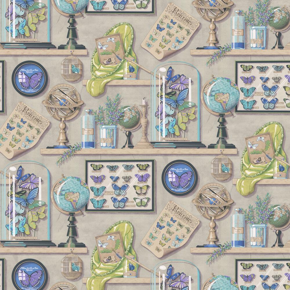 Manuel Canovas Imperialis Celadon Wallpaper - Product code: 3089/01