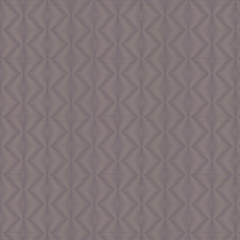 Osborne & Little Ruhlmann Heather & Pewter Wallpaper - Product code: W6897-02