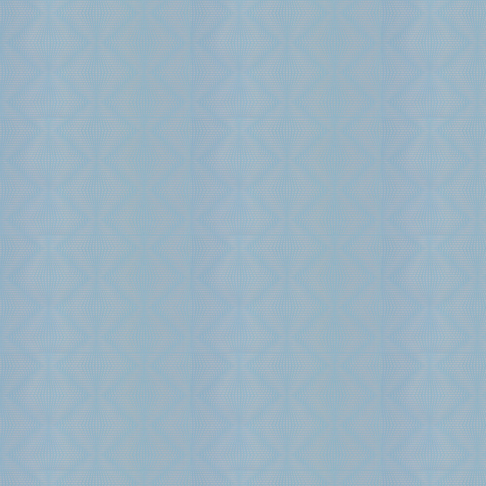 Osborne & Little Ruhlmann Duck Egg and Silver Wallpaper - Product code: W6897-05