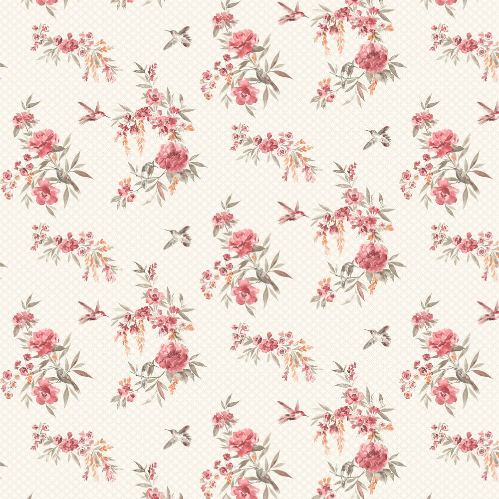 Albany Mika Red & Orange Wallpaper - Product code: 98592
