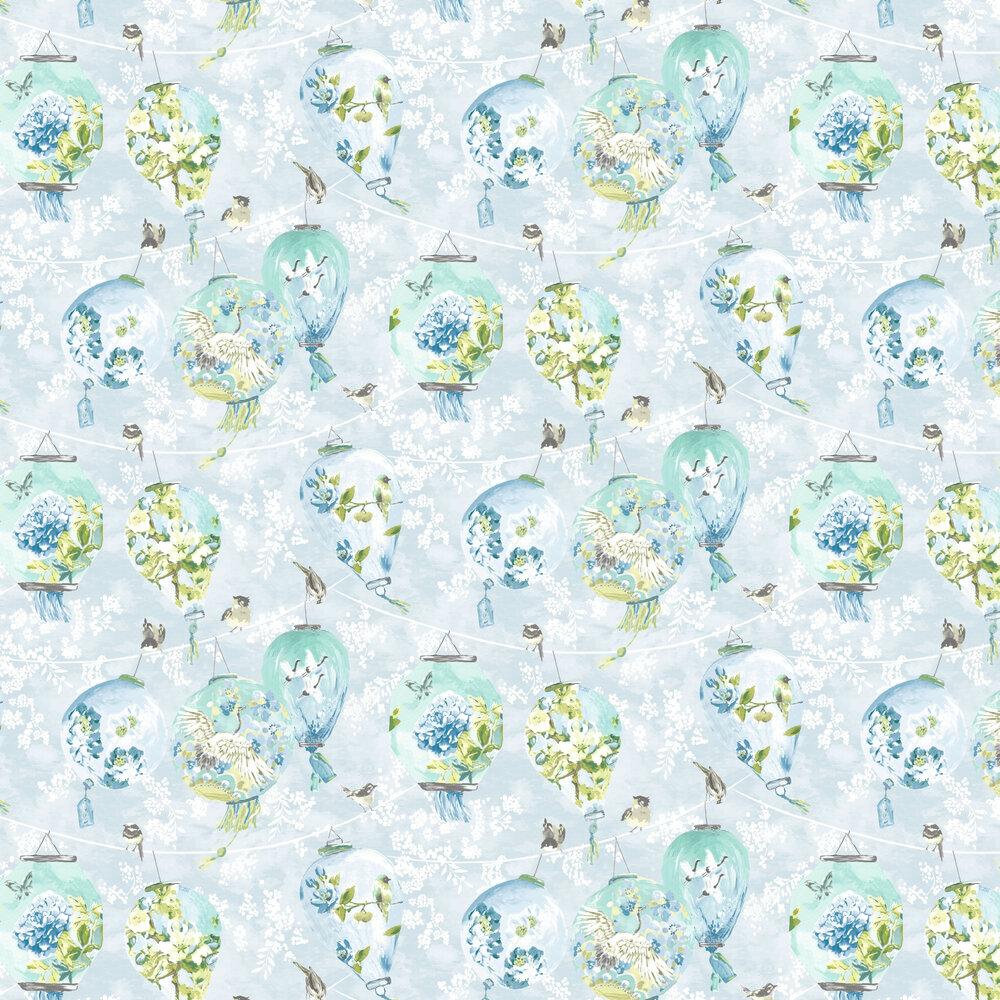 Albany Bonbori Blue & Green Wallpaper - Product code: 98643