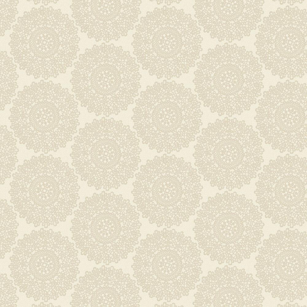 Albany Mandala Cream Wallpaper - Product code: 65090