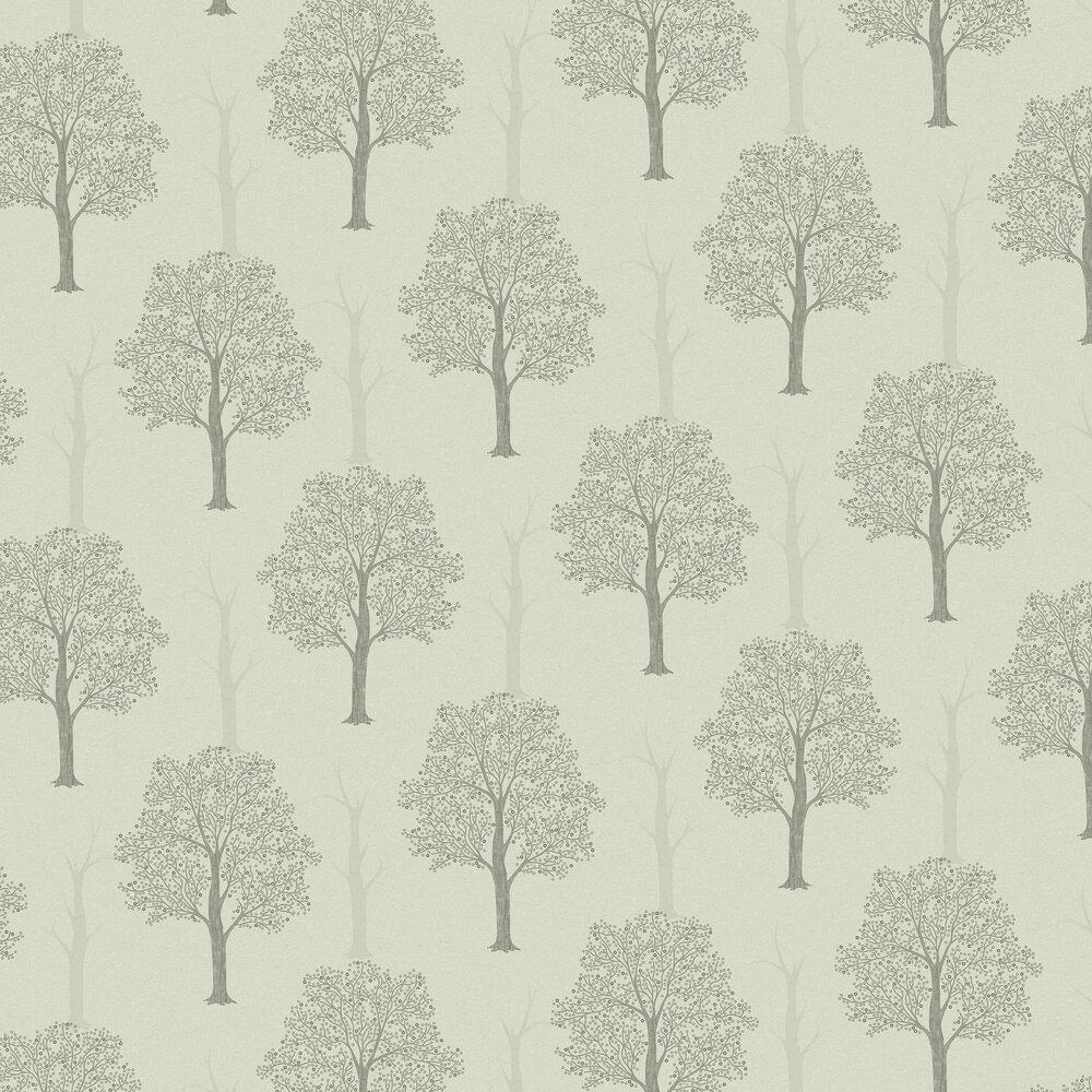 Ornella Wallpaper - Grey - by Albany
