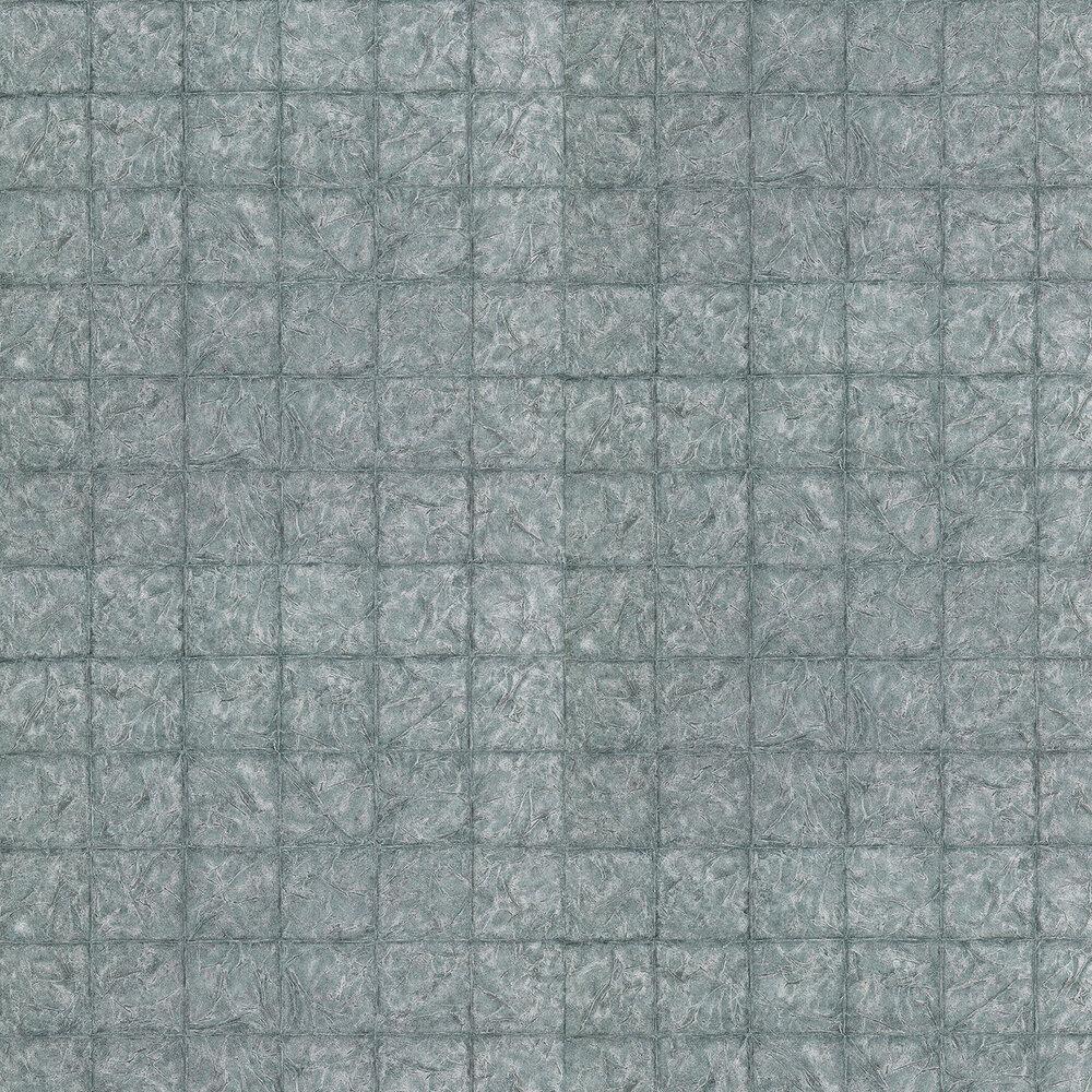 Anthology Cilium Aqua and Grey Wallpaper - Product code: 111369