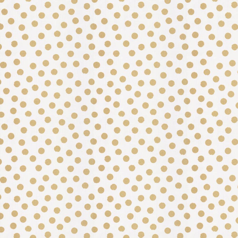 Glitter Spots Wallpaper - Gold - by Eijffinger