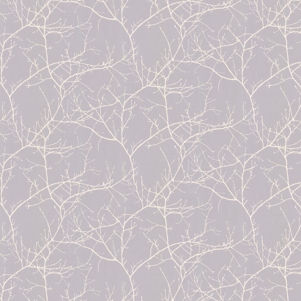 Twigs Wallpaper - Grey - by Casadeco