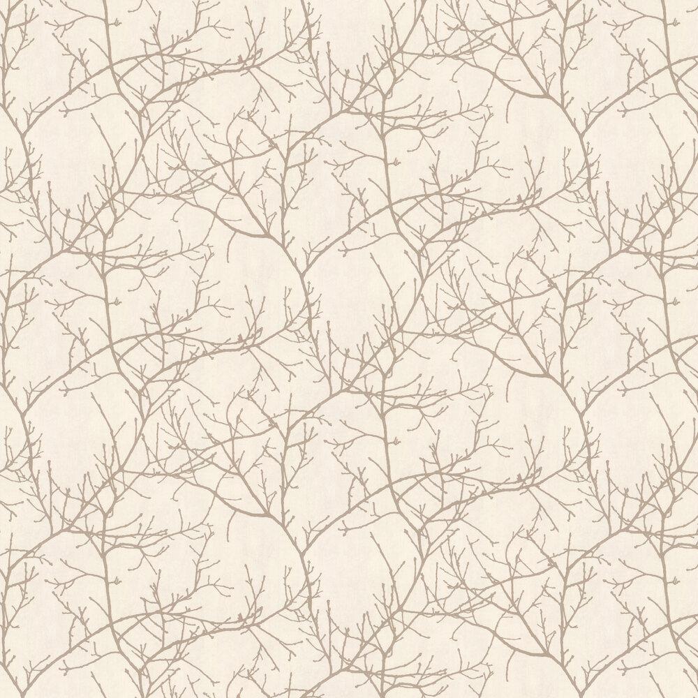 Twigs Wallpaper - Cream  - by Casadeco