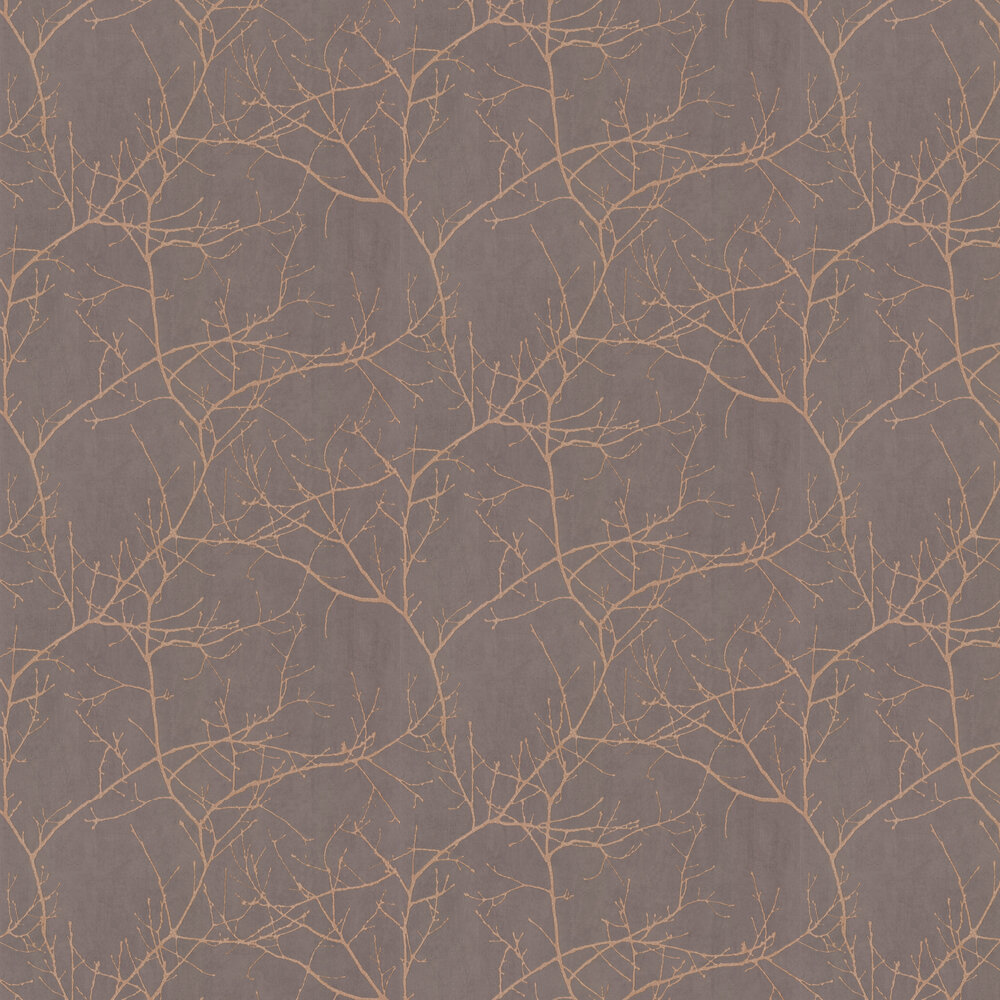 Casadeco Twigs Chestnut Wallpaper - Product code: 16963511