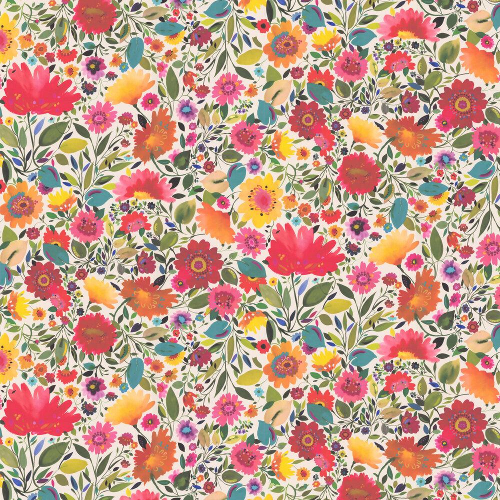 Clarke & Clarke Ariadnes Dream Multi-coloured Wallpaper - Product code: W0063/01
