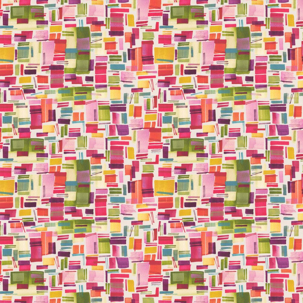 Clarke & Clarke Brooklyn Multi-coloured Wallpaper - Product code: W0065/01