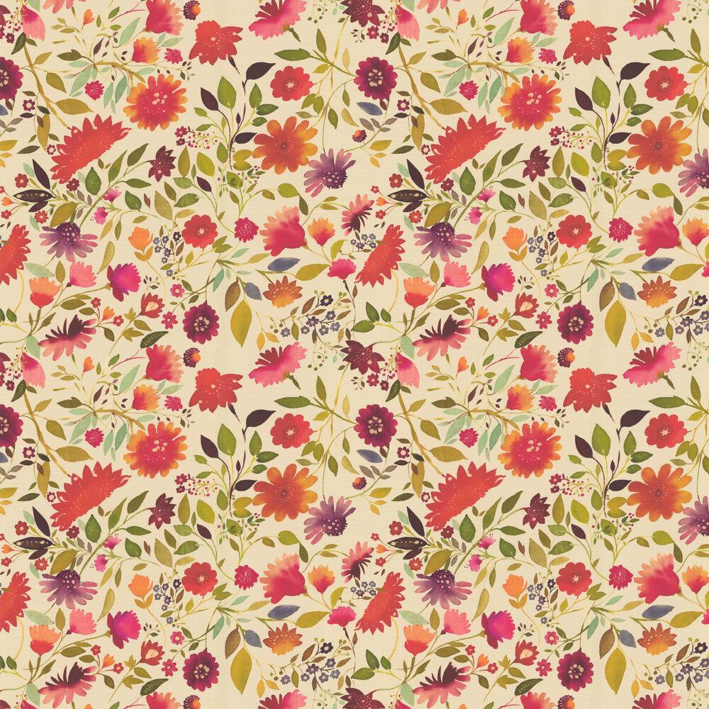 Clarke & Clarke Jaipur Multi-coloured Wallpaper - Product code: W0070/01